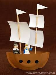 draw a mayflower ship project for projects and