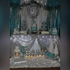 Winter Wonderland Baby Shower Winter Wonderland Baby Shower Theme Baby Shower Decoration