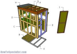 Deer Blind Plans 4x6 Simple 90 X6 Shooting House Plans Design Decoration Of Building A