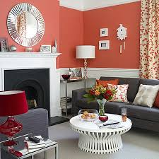 Decorating With Shades Of Coral - Coral color bedroom