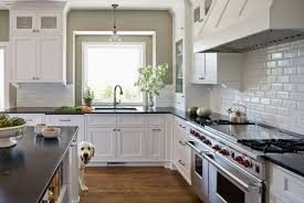 aqua grantique transitional kitchen sherwin williams
