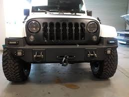custom jeep bumpers the kraken custom jeep jk bumpers