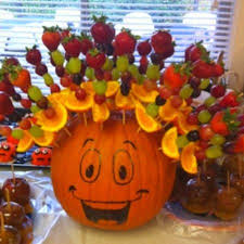 healthy fall and fruit treats kid friendly