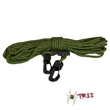 light line pull rope tree stand safety tree spider