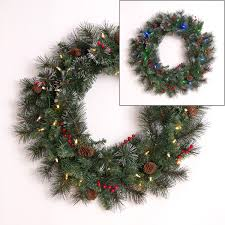 battery operated wreath battery operated indoor outdoor wreath with 35 dual color leds