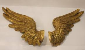 Wings Wall Decor Does Not Apply Large Gold Angel Wings Wall Decor Concept Home