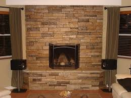 Stacked Stone Around Fireplace by 81 Best Fireplace Wall Images On Pinterest Fireplace Ideas