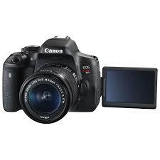 canon eos rebel t6i dslr camera with 18 55mm is stm lens kit