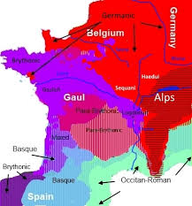 belgium language map how is