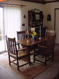mission on a budget arts crafts homes and the revival the dining room table was found in a root cellar