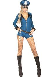 blue banana sugar skull skeleton hold ups halloween fancy dress police academy lady costume secret wishes police fancy dress