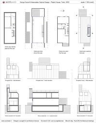 piano floor plan plastic house k kuma drawings plan