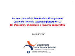 dispensa economia aziendale dispensa di economia aziendale cooperative dispense