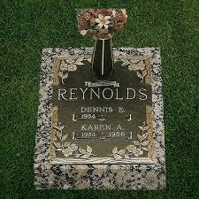 bronze cemetery markers bronze markers woodlawn memorials
