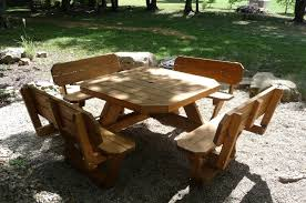 free picnic table plans picnic table 5 wood outdoor benches