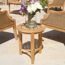 Teak Side Tables Country Casual