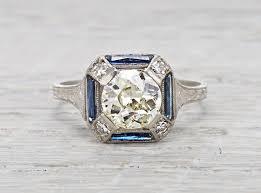 engagement rings art deco wedding promise diamond engagement