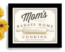 cooking gifts for mom mom s home cooking rolling pin baking art print kitchen by dexmex