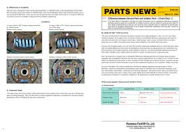 genuine spare parts komatsu forklift pdf catalogue technical