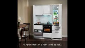compact kitchen everything included 6 ft space youtube