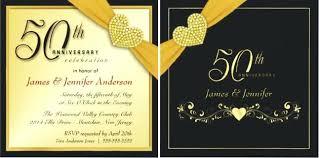 wedding anniversary invitations 50 wedding anniversary invitations whatstobuy