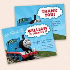 thomas the train birthday invites alesi info