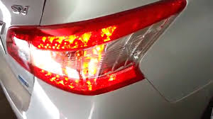 nissan versa tail light 2013 2015 nissan sentra testing tail lights after changing bulbs