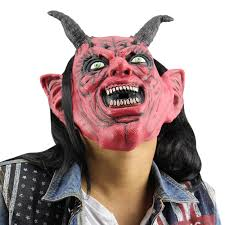 online get cheap latex devil mask aliexpress com alibaba group