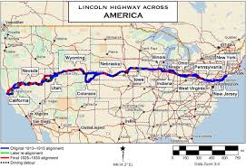 lincoln highway stockton california historic transcontinental