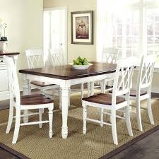 white dining room table and chairs white wash dining room table