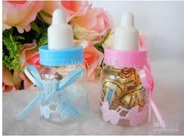 baby bottle favors wholesale new 50pcs lot baby shower favors bottle baptism