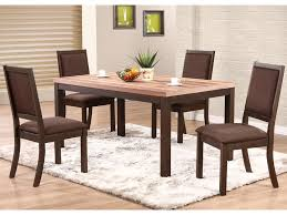 5 piece dining room sets winners only venice 5 piece dining set with cushioned side chairs