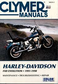 harley davidson clymer dyna repair manual 1991 1998 m424 2