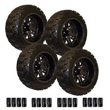 Golf Cart Off Road Tires 14 Inch Off Road Golf Cart Wheel And Tire Combos E Z Go