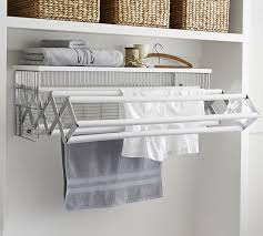 wallmount drying rack pottery barn