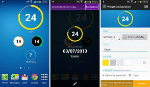 cool android widgets the 9 best countdown apps and widgets for android xslab