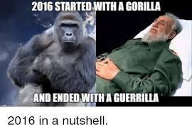 Gorilla Warfare Meme - 25 best memes about guerrilla guerrilla memes
