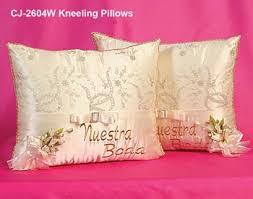 wedding kneeling pillows ivory hispanic wedding kneeling pillows mexican wedding kneeling
