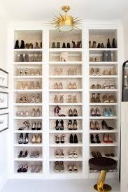 Small Walk In Closet Design Idea With Shoe Storage Shelving Unit Closet Reveal Ivory Lane Organize Me Pinterest Ivory
