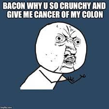 Cancer Face Meme - y u no meme imgflip
