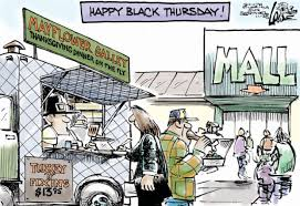 readers give thanksgiving day shopping mixed reviews opinion