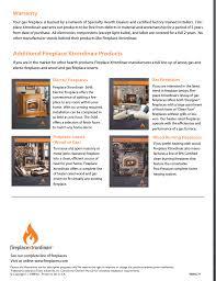 fireplace xtrordinair parts nomadictrade