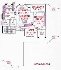 floor plans with 2 master suites 5 bedroom 2 bath southern house plan alp 099l allplans