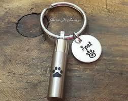 remembrance keychain urn keychain etsy