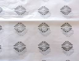 luxury wrapping paper custom printed logo gift tissue paper moisture proof packing paper