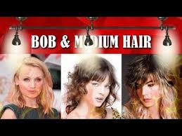 medium short hair 2018 bob u0026 shoulder length hairstyles 2018