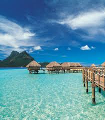 overwater bungalow honeymoons in bora bora tahiti destination