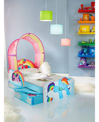 My Little Pony Bedroom My Little Pony Toddler Bed With Storage Bedroom