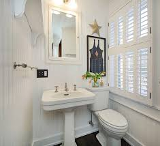 Bathroom With Beadboard Walls by Southampton Beach Cottage For Sale Home Bunch Interior Design Ideas