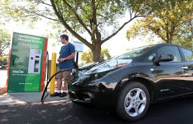 nissan leaf fast charger appeal of electric vehicles gaining momentum madison wisconsin